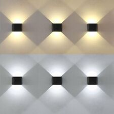 6W LED Wall Light Up Down High Power Sconce Wall Mount Hallway Porch Living Room