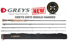 GREYS GR70 SINGLE-HANDED Fly Rods for Fly Fishing WITH FREE REEL & LOADED LINE!