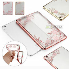 Ultra Thin Crystal Clear TPU Silicone Back Case Cover for iPad Mini 1 2 3 4 Air