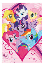 My Little Pony Group TV Series Childrens Poster New - Maxi Size 36 x 24 Inch