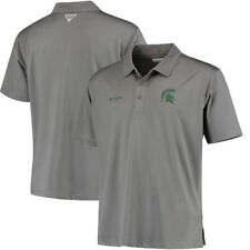 Michigan State Spartans Columbia Collegiate Low Drag Polo - Gray - NCAA
