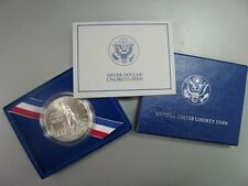 1986 Liberty Uncirculated Silver Dollar Commemorative Coin US Mint