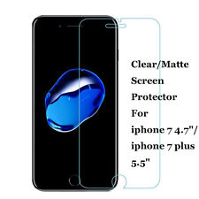 Lot Clear/Matte Front Screen Protector Film Skin Cover for iPhone 7 /7 Plus 5.5""