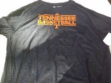 NWT Adidas Climalite T, Tennessee Basketball, men's  XL, polyester, gray