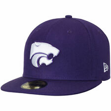 Kansas State Wildcats New Era Basic 59FIFTY Fitted Hat - Purple - NCAA
