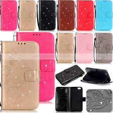 YPYB Rhinestone Leather Case Cover For Apple iphone 7 Plus 6 6S Plus 5S 5C 5G 4S