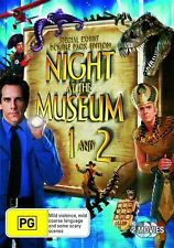 NIGHT AT THE MUSEUM 1 - 2 : NEW DVD
