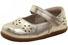 See Kai Run Toddler Girl's Ginger II Fashion Gold Mary Janes Shoes