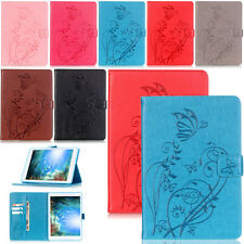 Hot -YPYB Embossing Leather Flip Case Cover For Apple iPad Air 2 1 Mini 4 3 Pro