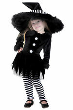 Deluxe Premium Emily the Witch Black White Infant Baby Child Toddler Costume NEW