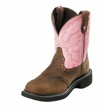 Justin Western Boots Womens Leather Gypsy Bay Apache Pink L9901