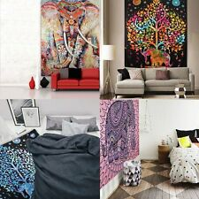 Boho Indian Tapestry Wall Hanging Hippie Bed Decor Gypsy Bedspread Beach Throw