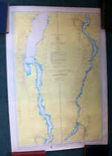 C&GS Chart 174 LAKE CHAMPLAIN Crown Point sail boat map Barber Point Whitehall