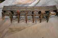HO Scale Timber Trestle & Tunnel Portal - Crafstman Built & Painted