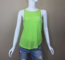 GILLY HICKS WOMEN'S WARRIEWOOD TANK SIZE Small,Casual, Cotton Blend, Greens