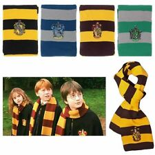 Harry Potter Gryffindor Thicken Wool Knit Soft Warm Costume Cosplay Scarf Wrap