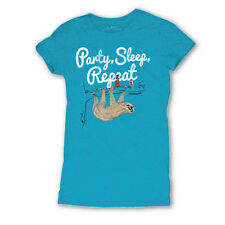 David and Goliath Womens T-shirt - Party, Sleep, Repeat