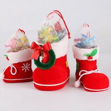 Christmas Decorations Children Gifts Candy Boots Gift Box Santa Claus