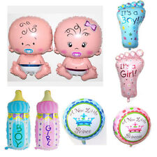 Baby Boy Girl Shower Foil Helium Balloons Christening Birthday Party Decoration