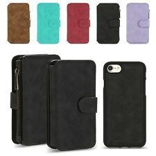 Flip Wallet Case PU Leather Magnetic Card Slot Stand Cover for iPhone 7/7 Plus