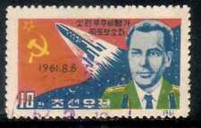 KOREA 2nd MANNED SPACE FLIGHT TITOV VFU issue 1962 #394 Mi 384