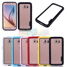 Colorful TPU Silicone Frame Case Cover Bumper Protective for Samsung S6 G9200