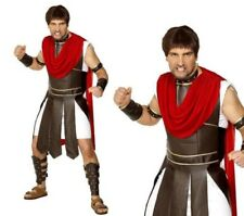 Roman Centurion Costume Mens Gladiator Fancy Dress costume M,L