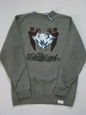The Keeper Gray Crew Sweater DIAMOND SUPPLY Co Company XL XLarge Crewneck Mens