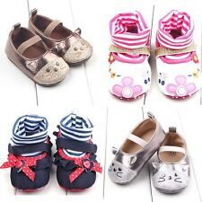 Newborn Infant Toddler Baby Boy Girl Crib Cotton Soft Sole Crib Shoes 0-18M Size