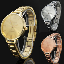 3 COLORS Women's Stainless Steel Analog Quartz Wrist Watches Dress Watch Jewelry