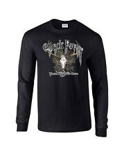 Buck Fever There Ain't No Cure Deer Skull Hunting Long Sleeve T-Shirt