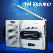 LCD Digital Auto Mini FM Radio Speaker USB Micro SD TF Card Mp3 Music Player