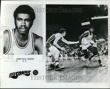 1976 Press Photo Garfield Heard, F, 6-6 of the Seattle Supersonics - orc04792