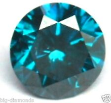 0.50 CTS NATURAL REAL BEAUTIFUL VS BLUE DIAMOND SOLITAIRE PIECE