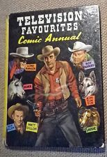 Television Favourites Comic Annual 1959 Lone Ranger Roy Rogers Lassie