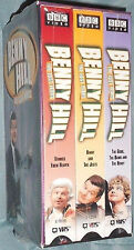 NEW BENNY HILL VHS SET - THE LOST YEARS - 3 TAPE SET - 180 MINUTES - BBC VIDEO