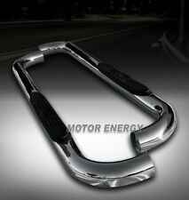 04-08 FORD F150 REGULAR CAB 3 INCH ROUND SIDE STEP NERF BAR RUNNING BOARD CHROME