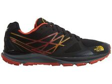 North Face Ultra Cardiac Mens CCN6-LE6 Black Yellow Trail Running Shoes Size 8