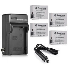 LP-E8 Battery Charger for Canon EOS Rebel T2i T3i Kiss X6i x5 X4 550D 600D 650D