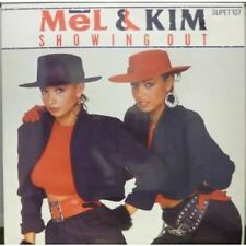 """MEL AND KIM Showing Out 12"""" 2 Track B/w System House Mix (supet107) Pic Sleeve U"""