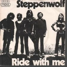 "STEPPENWOLF Ride With Me 7"" B/w For Madmen Only (1c00692681m) Pic Sleeve GERMAN"