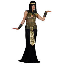 Ladies Queen Cleopatra Costume for Ancient Historic Fancy Dress Womens