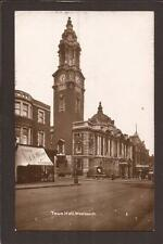 London Suburbs. Woolwich Town Hall and Street. Theatre. RP.