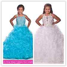 Flower Girl Dresses for Wedding Birthday Bridal Prom BallGown Pageant Party new