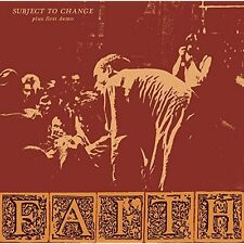 Subject To Change and First Demo Faith Audio CD