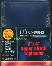 ULTRA PRO 3x4 TOP LOADERS BOX - PACK OF 10: SUPER EXTRA THICK 180pt EXQUISITE