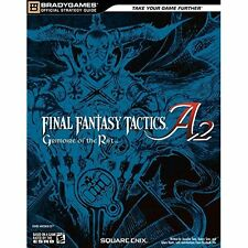 Final Fantasy Tactics A2: Grimoire of the Rift, Official Strategy Guide Sims, Je
