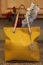 Michael Kors embossed MK leather jet set tote bag purse (pu300
