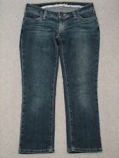 PH09416 **AMERICAN EAGLE** LIMITED BLUE ISSUE CAPRI, CROPPED WOMENS JEANS sz4R