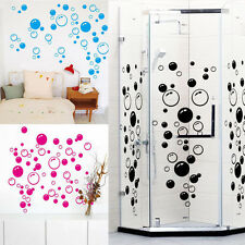 Removable Wall Sticker Bubbles Print Tile Decor Decal Mural Bathroom Room Decor